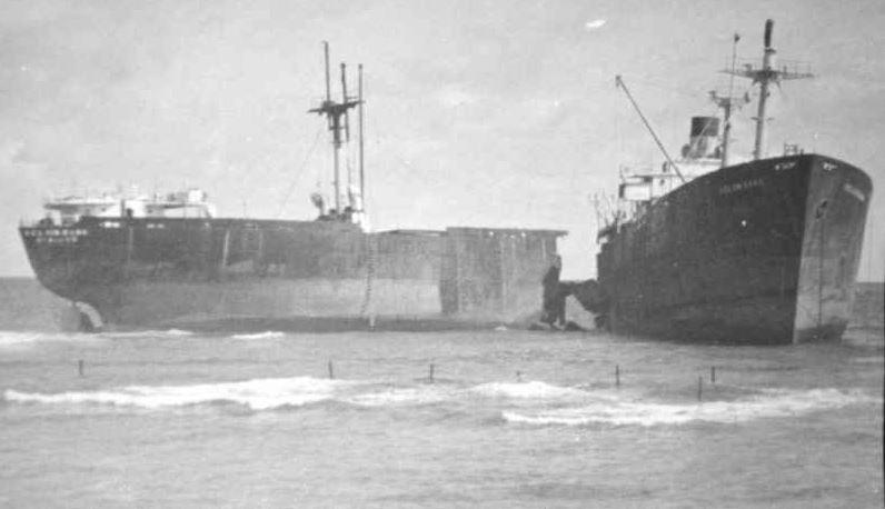 un LIBERTY ship au nom belge Kelvin10