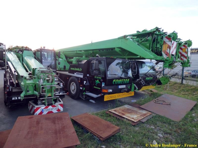 Les grues de COMETRA (Groupe BOVIS) (France) Parc_c16