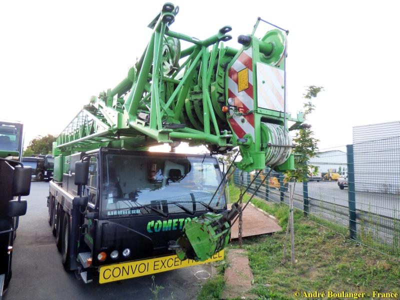 Les grues de COMETRA (Groupe BOVIS) (France) Parc_c20