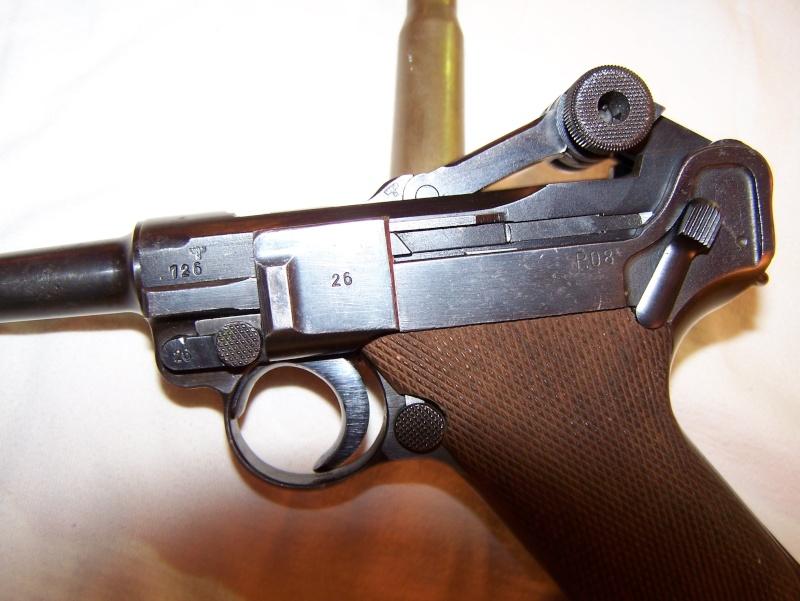"""Un Luger Mauser """"banner"""", de police, daté 1939. 100_4513"""