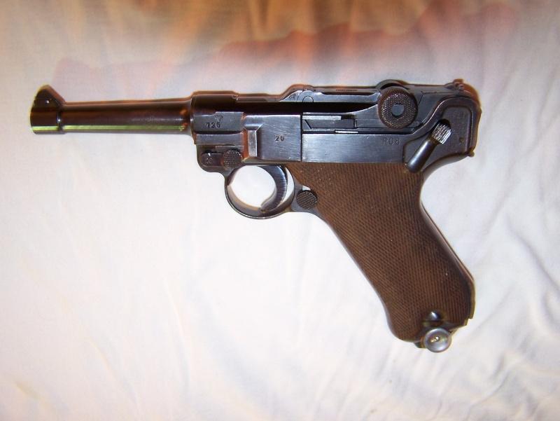 """Un Luger Mauser """"banner"""", de police, daté 1939. 100_4610"""