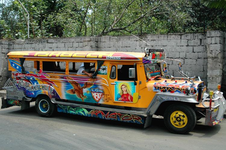 phillipine jeepney ou sarao Phil-j10