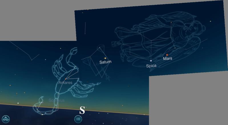 Histoire & Origine de l'astrologie occidental Ciel_210