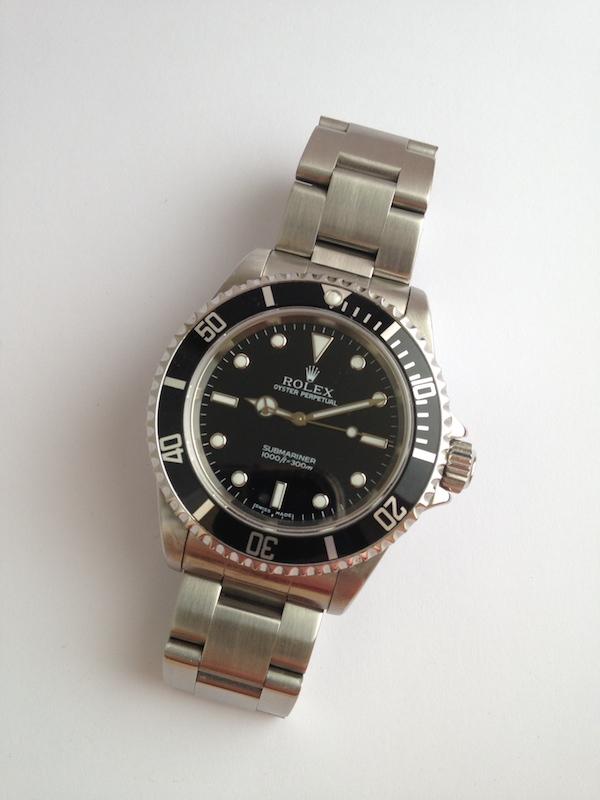 J'ai craqué..... Rolex Submariner. Img_0320