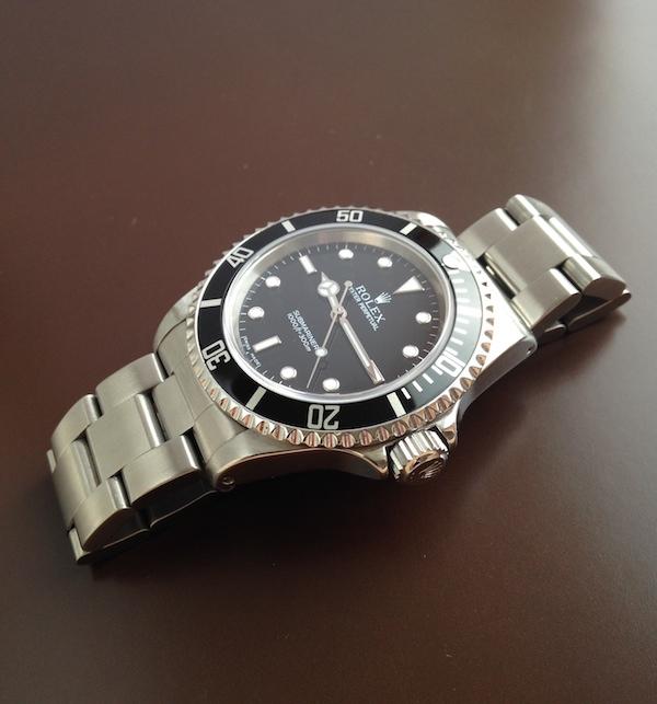 J'ai craqué..... Rolex Submariner. Img_0321
