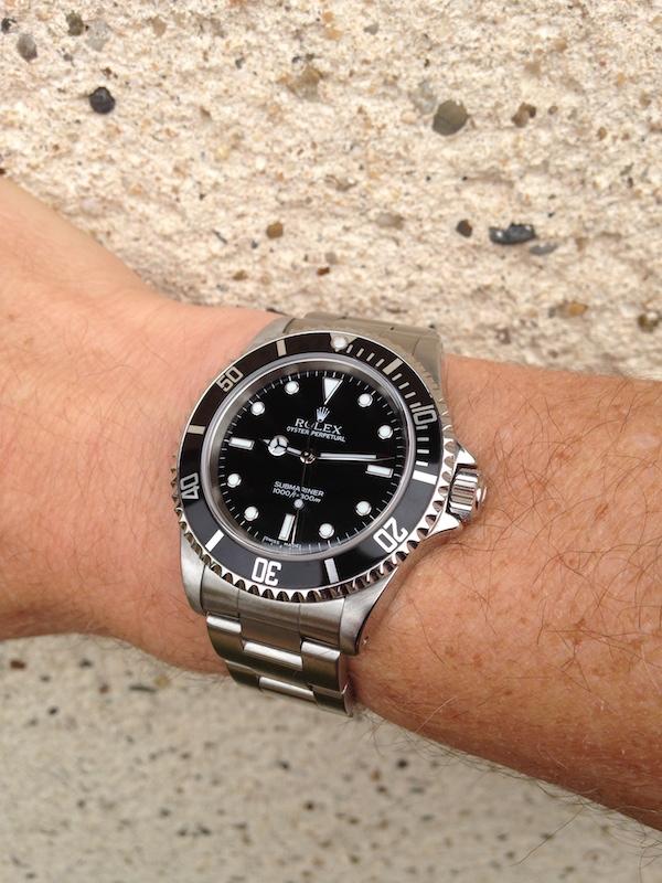 J'ai craqué..... Rolex Submariner. Img_0322