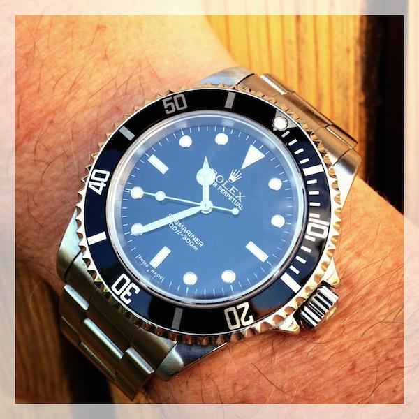 J'ai craqué..... Rolex Submariner. Img_0412