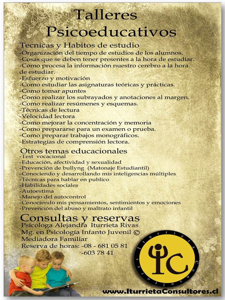 TALLERES PSICOEDUCATIVOS Taller10