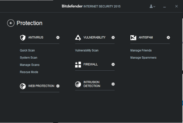 Bitdefender Internet Security 2015 - OneClick Optimizer 212