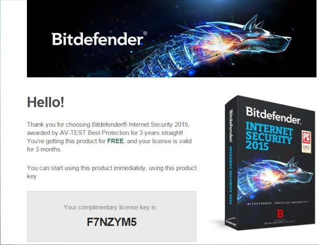 Miễn phí 3 tháng bản quyền Bitdefender Internet Security 2015 311