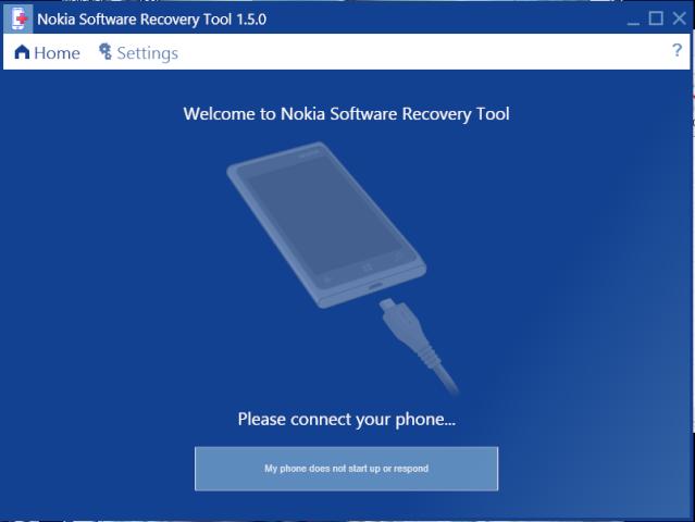 Nokia Software Recovery Tool - Khôi phục phần mềm Nokia Captur18