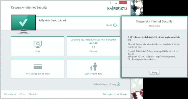 Kaspersky Internet Sercurity 2015 tiếng Việt chính thức ra mắt Kasper10