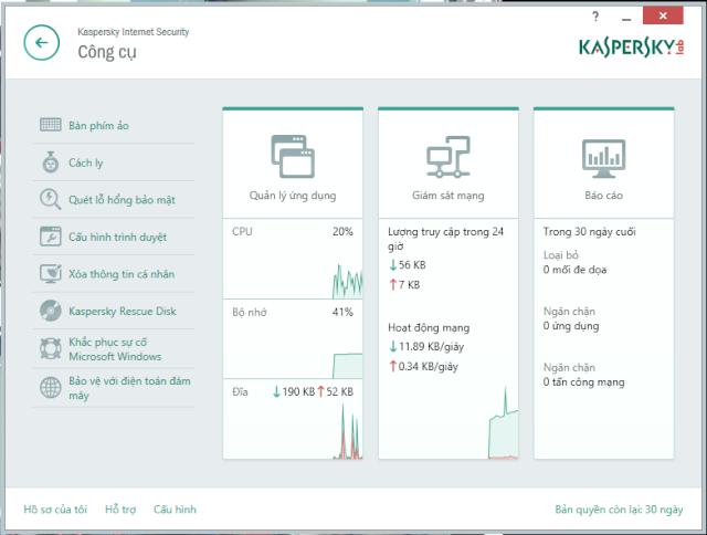 Kaspersky Internet Sercurity 2015 tiếng Việt chính thức ra mắt Kasper11