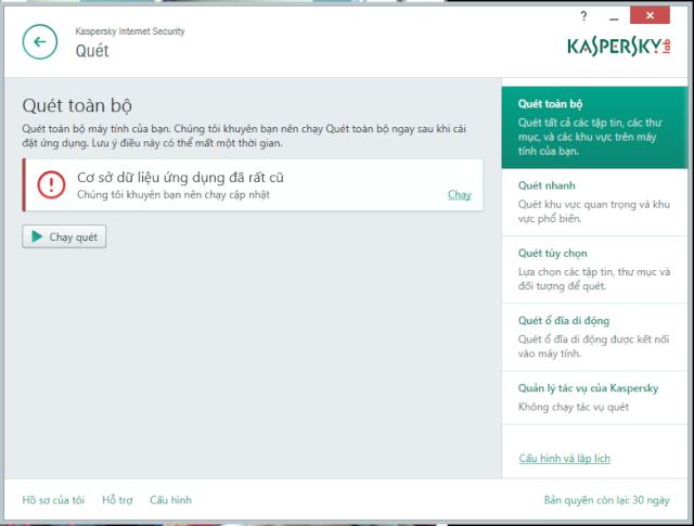 Kaspersky Internet Sercurity 2015 tiếng Việt chính thức ra mắt Kasper13