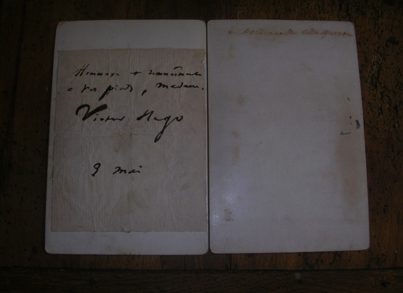 estimation photo signée victor hugo et un gambetta Victor12