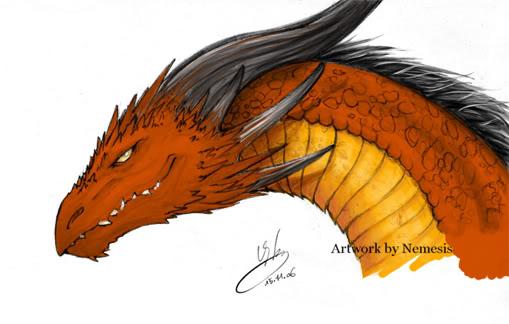 Demande trop ancienne demande de dessin - Dessin de tete de dragon ...