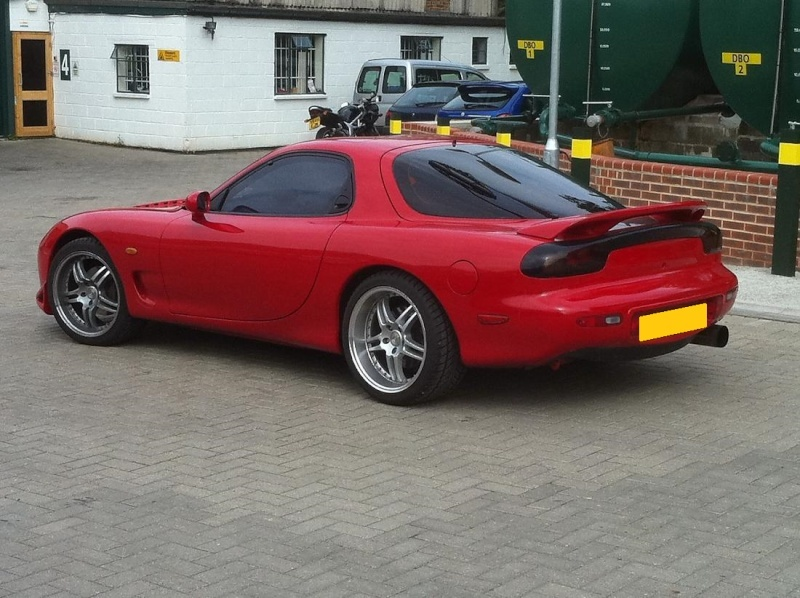 Ma nouvelle voiture : Mazda RX7 FD 3S Bi Turbo Back10