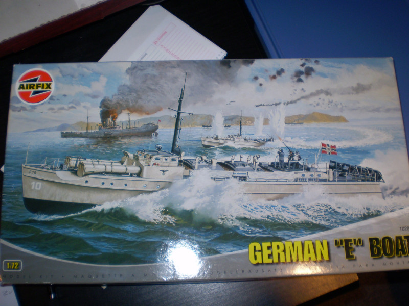 "Airfix  German ""E""Boat 1:72 P4040011"