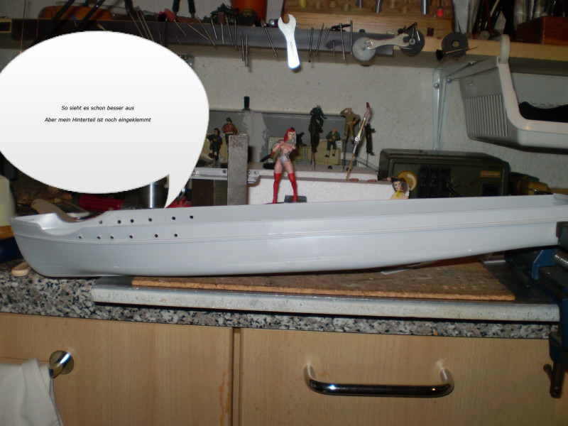 "Airfix  German ""E""Boat 1:72 P4040013"