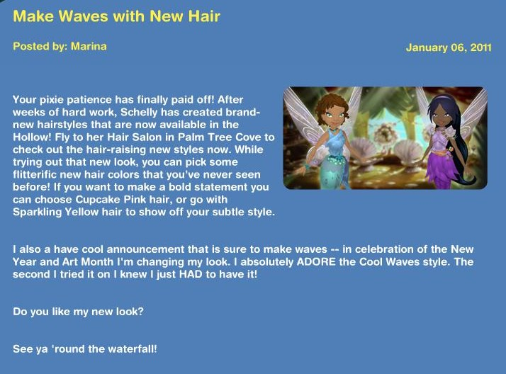 Make Waves with new hair! News11
