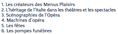 """Exposition """"Dans l'atelier des Menus Plaisirs du roi"""" Image_17"""
