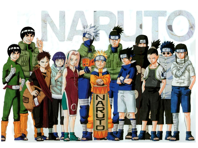 Naruto and some nerds. All-th10
