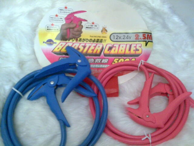 Powersync Booster cables 500a Booste10