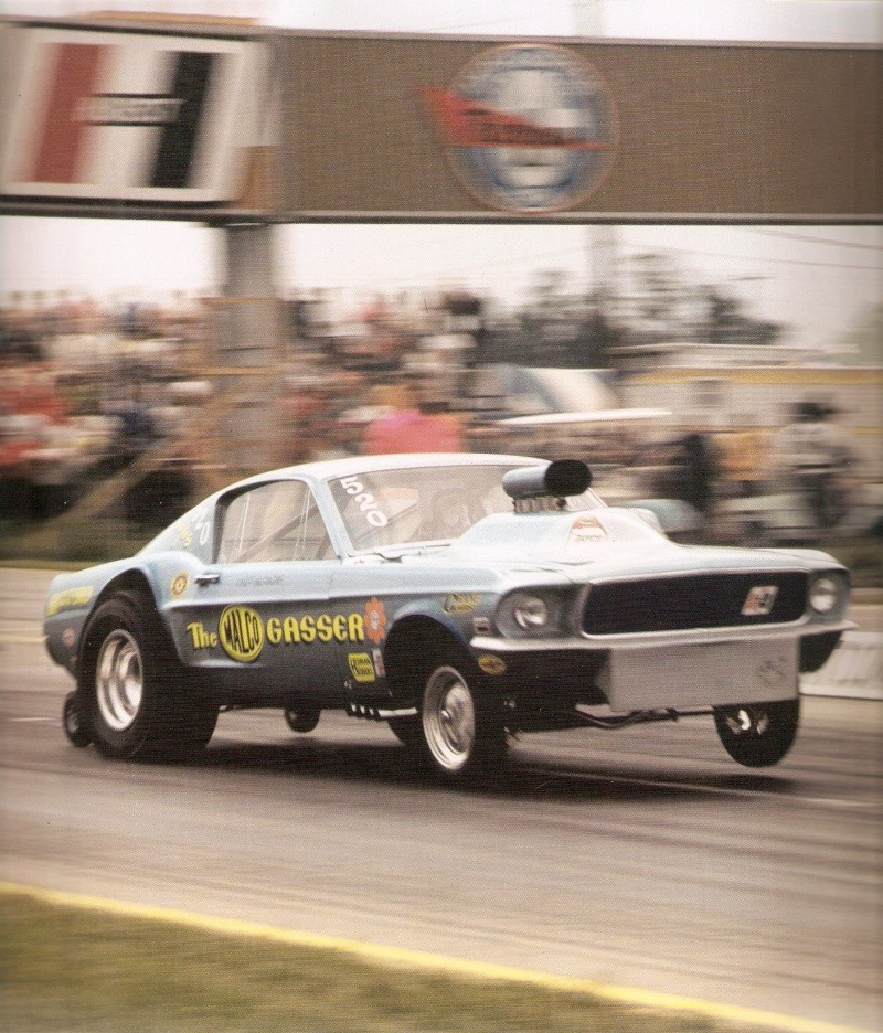 """Ohio George"" Montgomery- 1967 lightweight fiberglass Mustang-The Malco Gasser Ohio_g11"