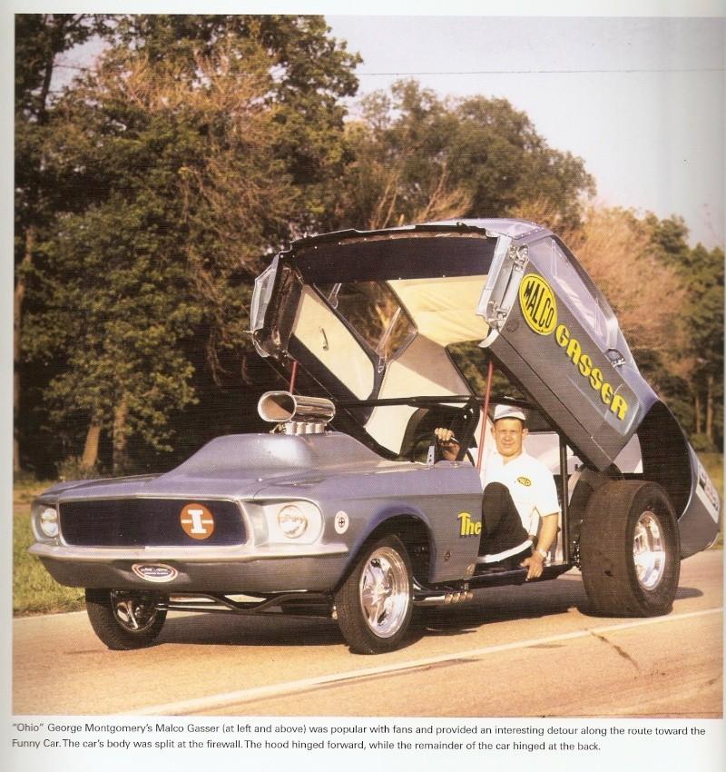 """Ohio George"" Montgomery- 1967 lightweight fiberglass Mustang-The Malco Gasser Ohio_g12"