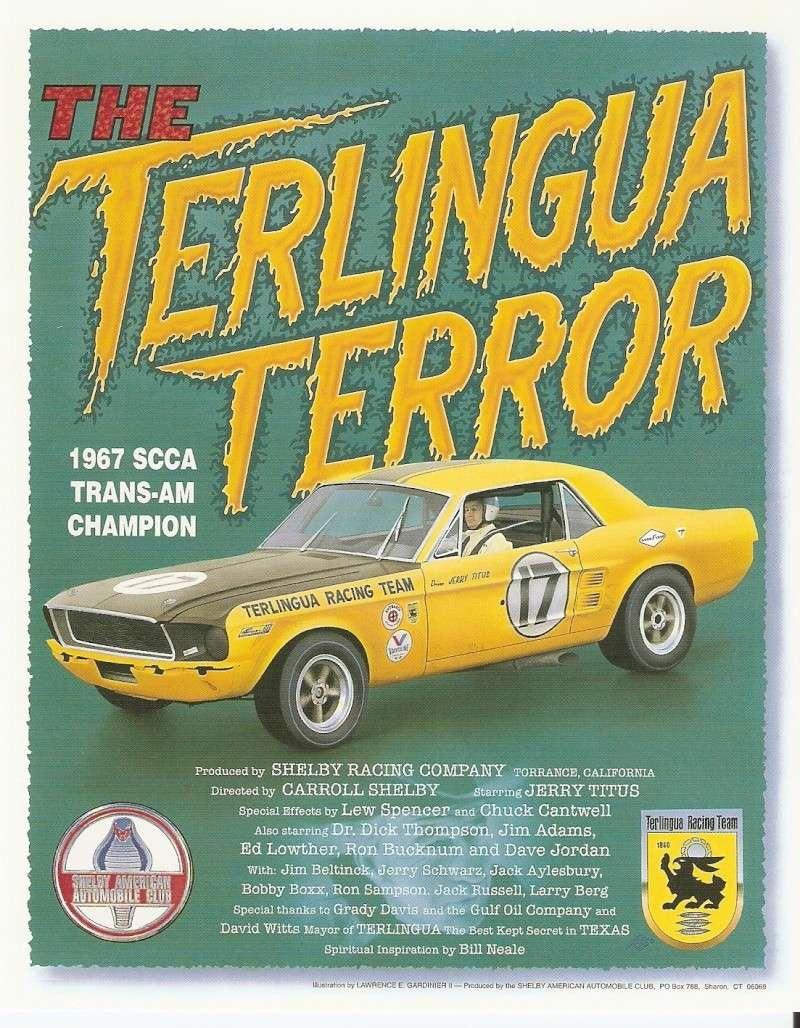 L'équipe de course Terlingua de Shelby-American en 1967 Saac-110
