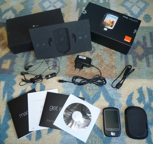 [VENDU] HTC Touch (P3450) avec accessoires P1000110