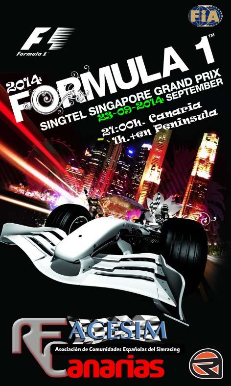 Presentacion GP Singapure F1-sin10