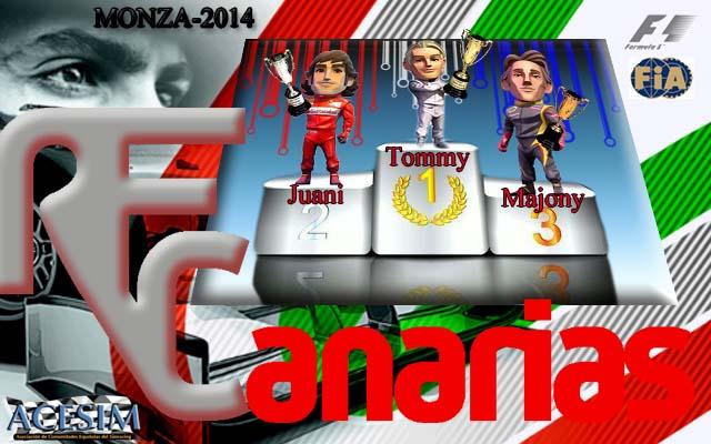 Presentacion GP Monza 2014 Podium22