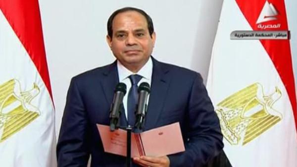 الرئيس عبد الفتاح السيسي يؤدي اليمين الدستورية رئيسا لمصر .! 513