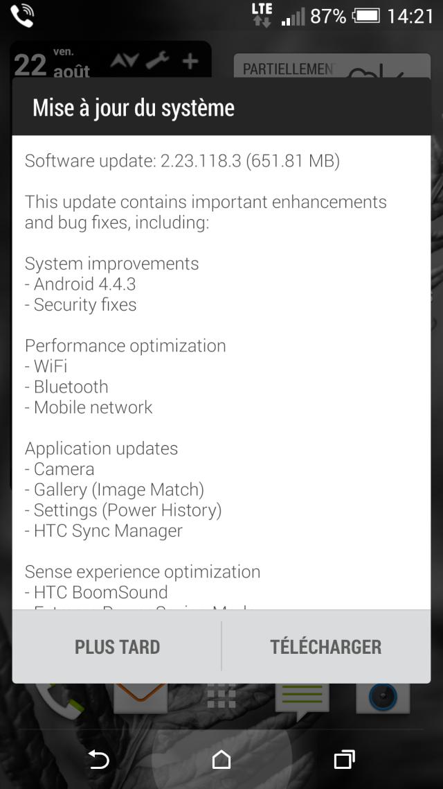 [INFO]mise à jour 2.23.118.3 OTA Android 4.4.3 Sense 6 (651.81MB) [22-08-2014] Screen10