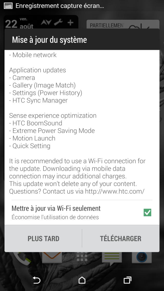 [INFO]mise à jour 2.23.118.3 OTA Android 4.4.3 Sense 6 (651.81MB) [22-08-2014] Screen11