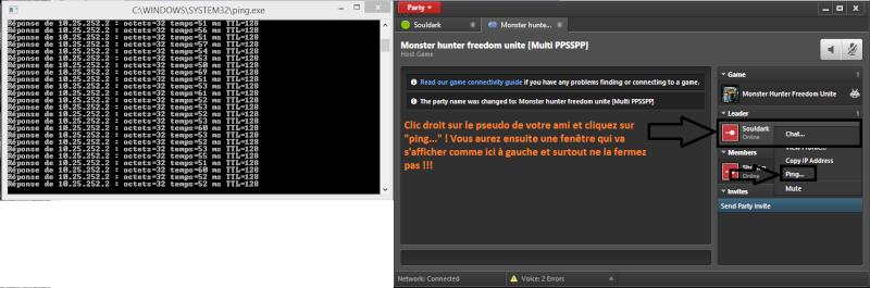 Emulateur PPSSPP pour psp + jeu en réseau EvolveHQ Home15