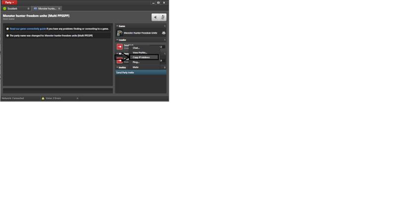 Emulateur PPSSPP pour psp + jeu en réseau EvolveHQ Home17