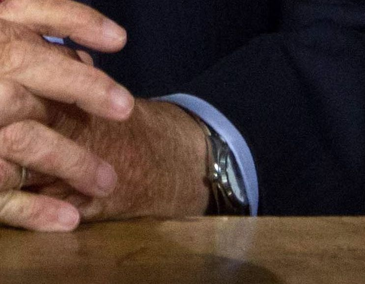 quelle montre porte le roi Albert II? Albert10