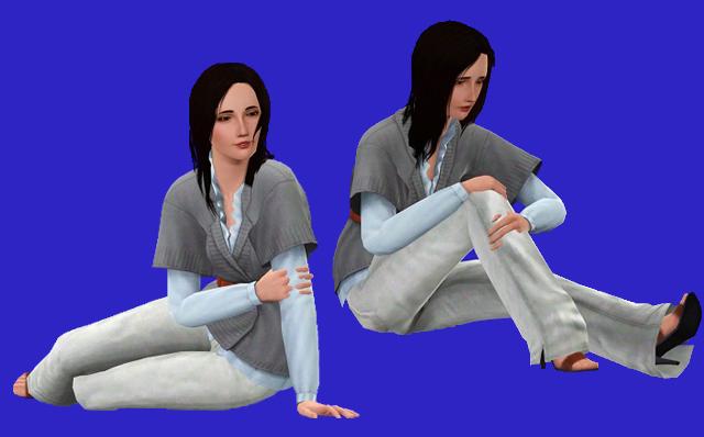 Problème Robes sous Blender pour les Poses Pose_b11