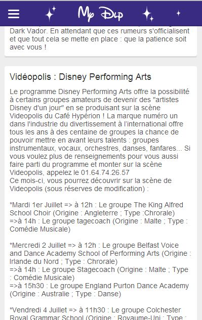 Disney Performing Arts (anciennement Disney Magic Music Days) à Videopolis - Page 3 Captur10