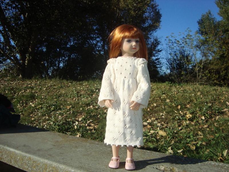 Essai de robe pour Sarah - Savannah Dsc04617
