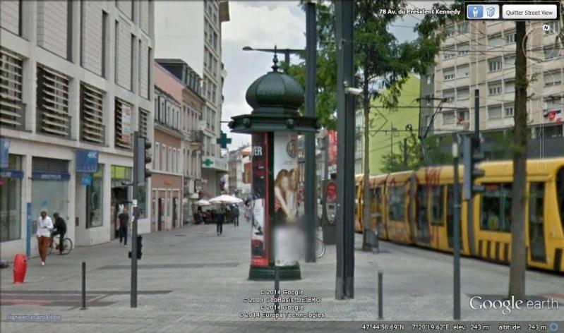 Les colonnes Morris en France Col110