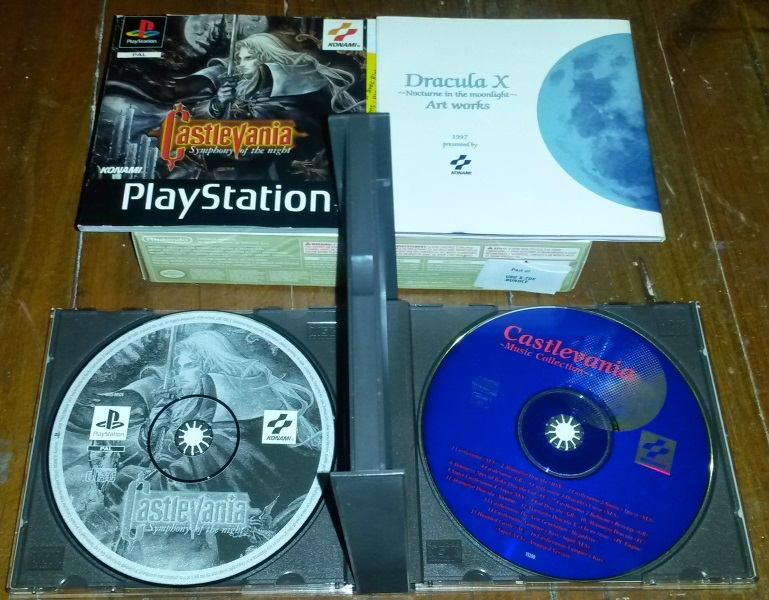 Castlevania symphony of the night pal limited edition EURO Castle15