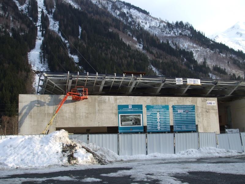 Reconstruction de la gare aval du téléphérique de l'aiguille du midi Dscf3810