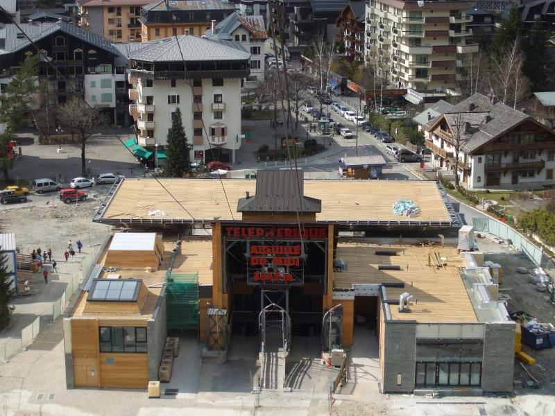 Reconstruction de la gare aval du téléphérique de l'aiguille du midi Dscf4010