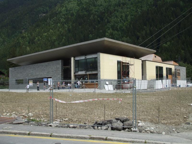 Reconstruction de la gare aval du téléphérique de l'aiguille du midi Dscf4510