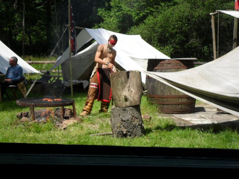 Images du camp de la Pentecôte 2014 à Fort deadwood Deadwo44