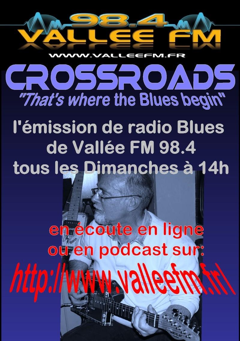 CROSSROADS la radio Blues Affich10