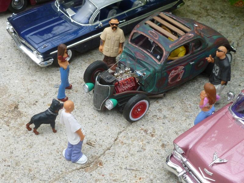 Ford 36' rat rod to Texaco P1020670